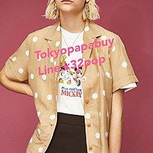 合購優惠《東京趴趴買 日本代購》日本品牌Disney series created by moussy米奇圖案連帽外套