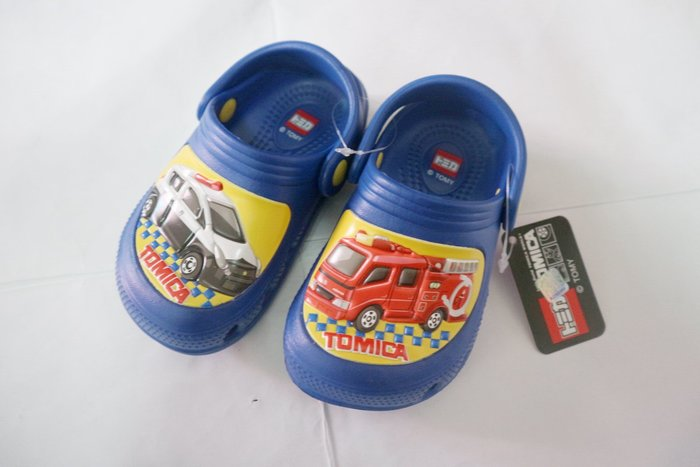 TOMICA多美小汽車 1804 園丁鞋 洞洞鞋 布希鞋 新上市 無毒拖鞋台灣製造 MIT經典時尚 14~19號
