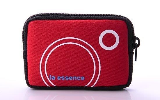 la essence 熱賣商品~LE-9303Q 手機袋/ 相機包/卡片零錢包~(附頸吊Q 帶) 潛水衣布.防震.抗摔