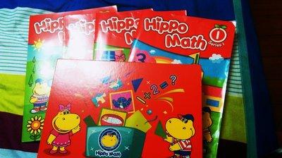 何嘉仁小班Hippo Math1-5,5本書加數學寶盒,教幼兒數學最佳教材