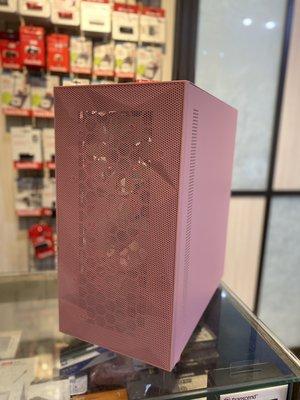 貓太太【3C電腦賣場】現貨-DarkFlash DLM21 粉色 M-ATX 電腦機殼  (不含風扇)