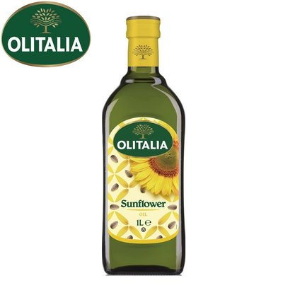 Olitalia奧利塔 葵花油1000ml/瓶 x 6 瓶