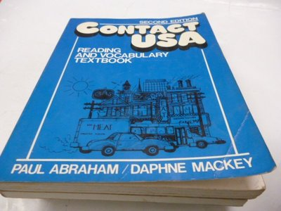 買滿500免運 / 崇倫《Contact U.S.A.: Reading and Vocabulary Textbook