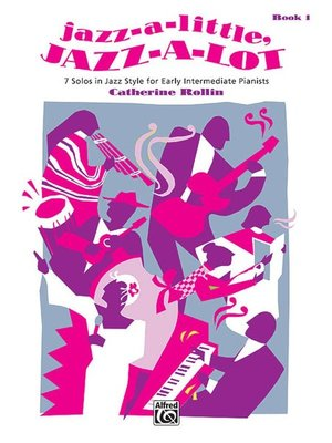 【599免運費】Jazz-a-Little, Jazz-a-Lot, Book 1  Alfred 00-6659