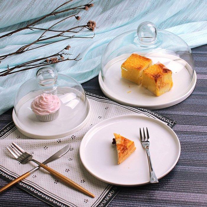 [C.M.平價精品館]歐式現代蛋糕水果陶瓷托盤/點心盤