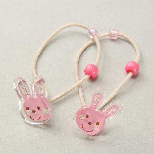 日本製 粉兔髮束