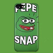 PEPE THE FROG SNAP ANDROID/ IPHONE CASE 半包手機硬殼