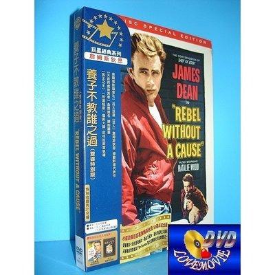 三區台灣正版【養子不教誰之過 Rebel Without a Cause(1955)】雙碟特別版DVD全新未拆