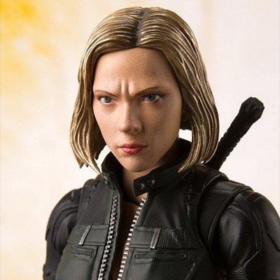 MOMO 復仇者聯盟3 Black Widow SHF 黑寡婦 復聯 斯嘉麗 可動換臉 手辦