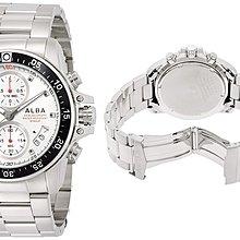 日本正版 SEIKO 精工 ALBA AQGT421 男錶 男用 手錶 日本代購