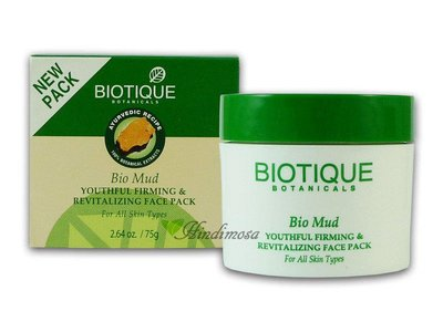 Biotique 礦物緊膚水嫩面膜 Mud Youthful Firming & Revitalizing 75g
