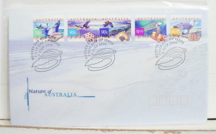 (全新) 1999年-澳洲-Nature of Australia (自然風景) 郵票
