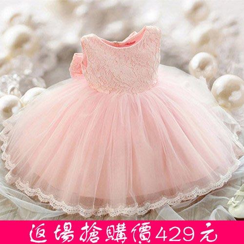 花童禮服 兒童公主裙 女童連身裙  寶寶裙子  生日蓬蓬裙  洋裝—莎芭