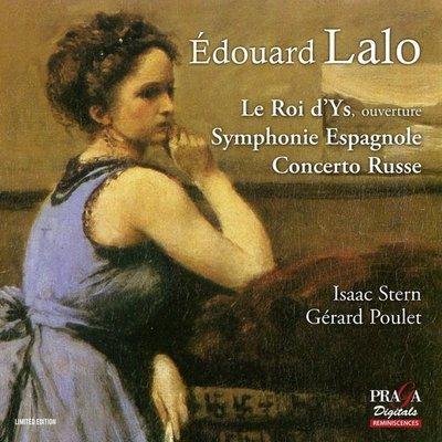 拉羅:伊斯國王序曲、西班牙交響曲、俄羅斯協奏曲/艾薩克史坦 Isaac Stern--PRD350094