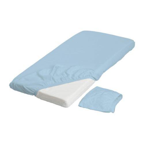 【代購&ヘルプ IKEA】代購 ikea 全新 LEN 嬰兒床床包 粉紅色 白色 藍色 多款可選擇 一組二個 可替換