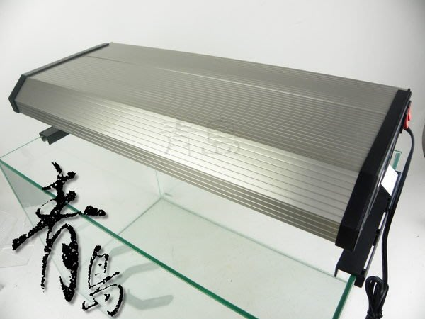 H。青島水族。3T5-3139極之光二代--T5超薄型鋁合金燈具(含腳架+免運)==3.1尺三燈(寬20cm)