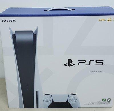 現貨 Sony PS5 Playstation 5 光碟版 825G Hdmi2.1 120Hz 單機 空機 主機 X9000H Q70T C9 白色 單一尺寸