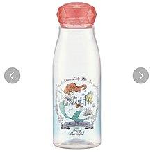 (現貨)約500ml 約高20cm 樹脂膠 直飲 水壺 擰蓋式 附過濾器 Disney Mermaid  Ariel 美人魚 日本直送 全新品