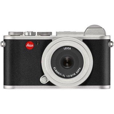 *大元˙台南*【新品預購】Leica 萊卡 Leica CL with 18mm Lens 平輸品貨 銀/黑