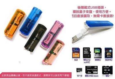 【東京數位】全新果凍4色 M2/TF/SDHC/ MINISD免轉卡 公司貨25元