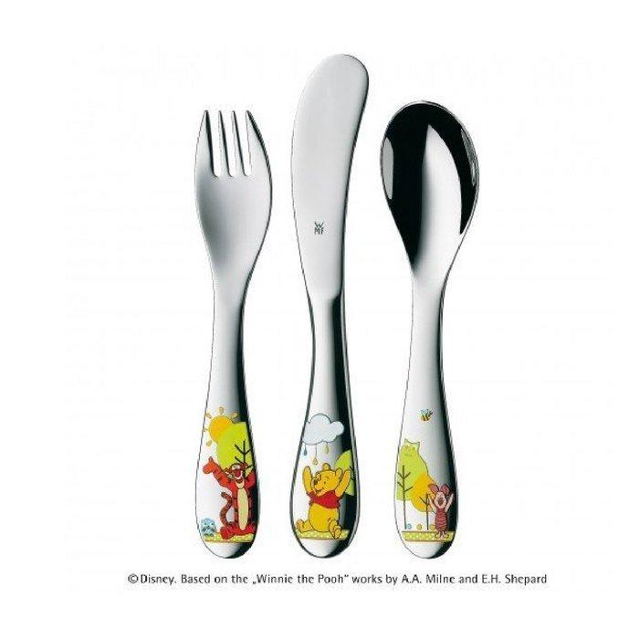 德國 WMF 小熊維尼 兒童餐具組 三件組 (適用1-3歲)