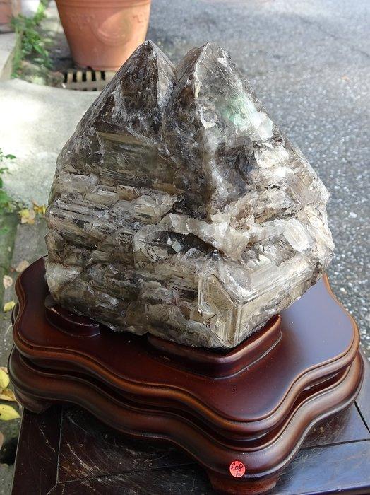 ~shalin-crystal~巴西鱷魚骨幹水晶~5.08公斤~完整度高~除穢聚氣~化煞聚財~低價起標!