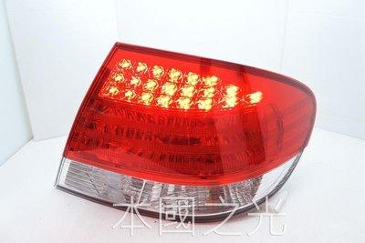 oo本國之光oo 全新 三菱 08 09 10 11 12 13 GRUNDER 正廠 LED 晶鑽紅白 尾燈 一顆