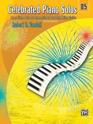 【599免運費】Celebrated Piano Solos, Book 5 Alfred 00-881341