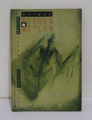 Batman Arkham Asylum│WARNER Books(1990)