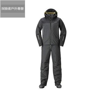 shimano禧瑪諾沖鋒衣RB-025R加厚路亞釣魚服戶外防風防寒冬季外套8861