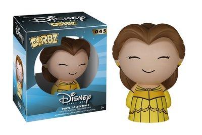 正版 Dorbz - Disney 美女與野獸 Beauty and the Beast 貝兒 亞當王子 (一組3入)
