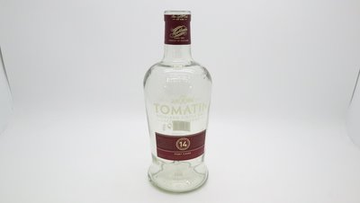 Tomatin 14 Highland Single Malt Scotch Whisky 700ml 空樽一個 家居擺設