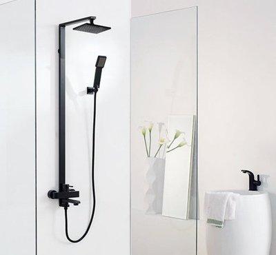 《E&J網》BETTOR 亞光黑系列 淋浴花灑 FH 8166B-D56-PB 歐洲頂級陶瓷閥芯 詢問另有優惠