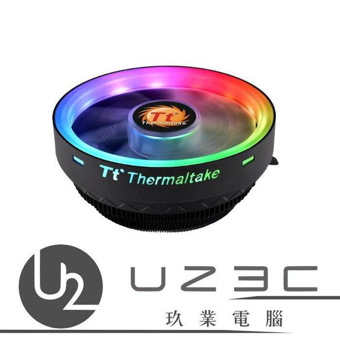 【嘉義U23C 含稅附發票】Thermaltake 曜越 UX100 ARGB 主機板連動 CPU 散熱器