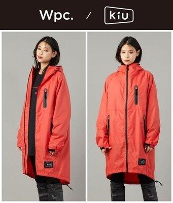 【現貨- KIU 空氣感雨衣 2019 粉色】日本 WPC RAIN ZIP UP 露營 登山 防水 機車 雨衣 風衣