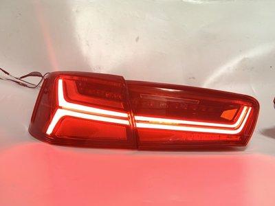 ✨德楊精品✨ Audi A6 C7 改 C7.5流水尾燈。直上免換保桿