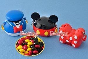 《東京家族》東京迪士尼限定 米奇&米尼&唐老鴨造型糖果盒吊飾 (不附糖果)3選1