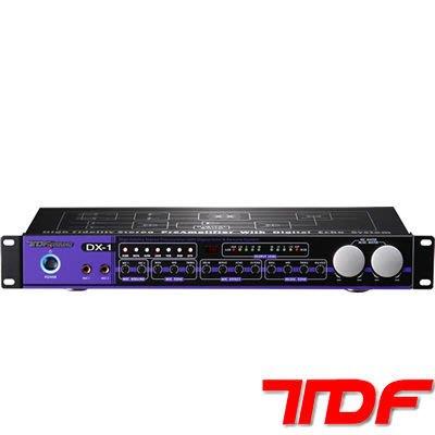 TDF DX-1~專業混音器!!!具有遙控功能~抑制麥克風迴授發生~另有DSP-5000 專業混音器~音圓-