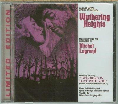 """咆哮山莊(Wuthering Heights)""- Michel Legrand(25),全新美版"