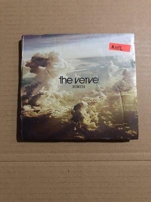 *還有唱片二館*THE VERVE / FORTH CD+DVD 二手 A1116 (封面底微破.下標幫結)
