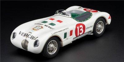車模收藏 1:18汽車模型1:18 CMC捷豹Jaguar C-Type 1954 13號汽車模型