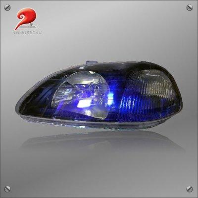 KS-HD142L 96-98 K8 黑底炫光 左大燈