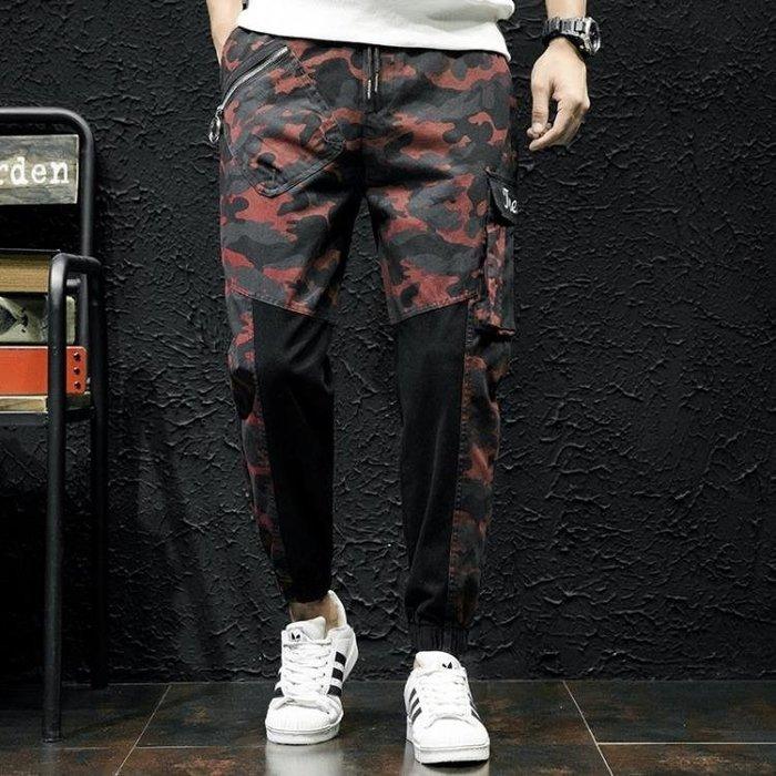 休閒褲 男黑色牛仔褲寬鬆大碼長褲秋冬男日系小腳褲休閒哈倫褲韓版男長褲子t5087