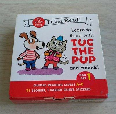 ☆極簡風格☆二手書(免運)【Learn to Read With Tug the Pup and Friends! Set1】6本小書($480出清)