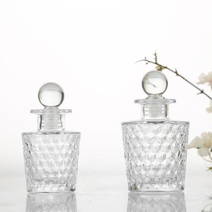 100ml雨點玻璃瓶☆ VITO zakka ☆香氛香薰玻璃瓶