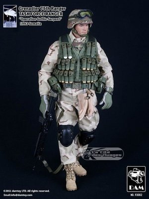 DAMTOYS 93002 Grenadier TASK FORCE RANGER SOMALIA 全新未開