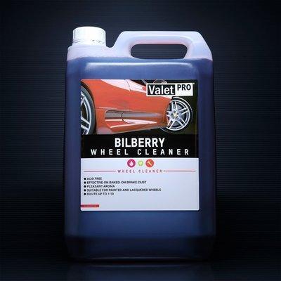Valet PRO Bilberry wheel cleaner 覆盆莓 輪框清潔劑 5L