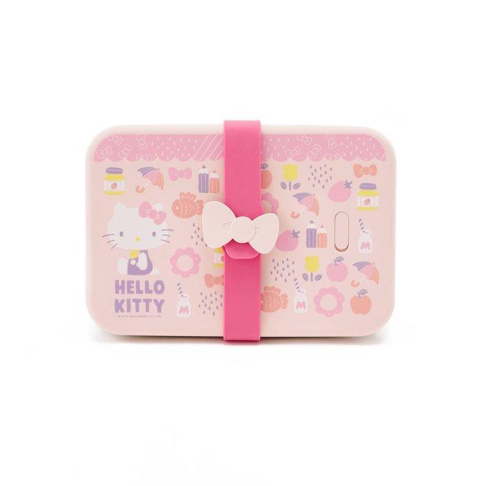 台灣 VIIDA x Hello Kitty 夢幻日常長形便當組/316不鏽鋼便當盒/午餐盒/餐盒/保鮮盒 2020聯名