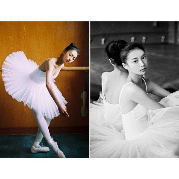 5Cgo【鴿樓】會員有優惠 44069126487 專業芭蕾TUTU裙蓬蓬裙層硬紗裙帶內褲芭蕾舞蹈裙演出裙芭蕾裙衣