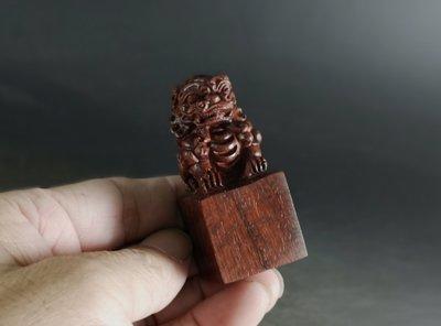 印度小葉紫檀 「獅印」 高油密帶星 老料   E121